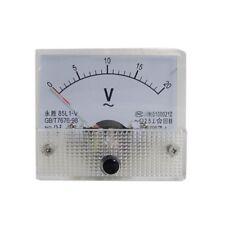 85L1-V AC 0-20V Voltimetro analogico medidor del panel de Voltaje Q5K6