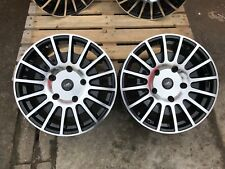 """18"""" 5x160 BLK POLISHED T SPORT ALLOY WHEELS FITS FORD TRANSIT CUSTOM LOAD RATED"""