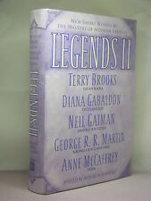 1st, signed by 9 of 11 authors, Legends II ed by Robert Silverberg (2004)