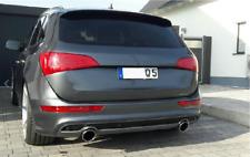 SPORT AUSPUFF AUSPUFFBLENDE BLENDEN ENDROHRE CHROME VW AUDI Q5 Q7 A5 A7 V8 114mm