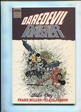 """DAREDEVIL AND THE PUNISHER """"CHILD'S PLAY"""" TPB GRAPHIC NOVEL (8.0) 1987"""