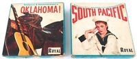 SCARCE / VINTAGE ROYAL 3 3/4 IPS 2 TRACK MONOPHONIC SOUND TAPES + ORIGINAL BOXES
