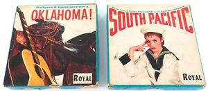 .VINTAGE ROYAL IPS 2 TRACK REEL RODGER HAMMERSTEIN OKLAHOMA SOUTH PACIFIC TAPES