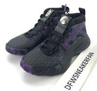 Adidas Dame 5 J Kids Size 5.5 Marvel Black Panther Shoes EG2627 Wakanda Forever