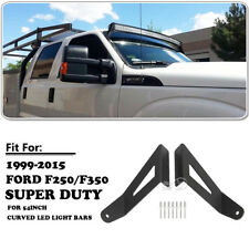 "Mounts Brackets Fit For Ford F250 350 Super Duty 99-15 For 54""inch LED Light Bar"
