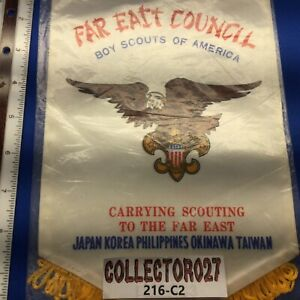 Boy Scout Far East Council Boy Scouts Of America Mini Banner