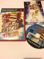 🥳 jeu playsation 2 ps2 ps3 pal fr buzz le quiz musical