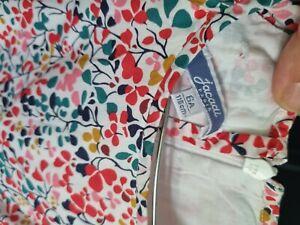 jacadi girls dress size 6, multi coloured,good used condition