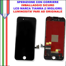 Schermo Display LCD Touch Apple Iphone 7 Nero Originale A1660 A1778 A1779 4,7 7g