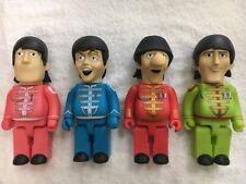 "The Beatles ""Yellow Submarine"" PVC Vinyl 28""cm Action Figures 4 in 1 Full Set B"