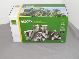 2018 ERTL 1:32 FARM SHOW EDITION John Deere 9570RX Tractor NIB 100th Ann Silver