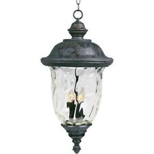 Maxim Carriage House VX 3-Light Outdoor Hanging Lantern Bronze - 40427WGOB