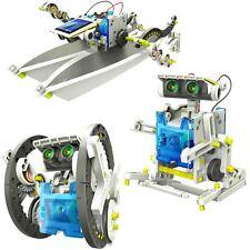 14 en 1 Robot Solar Educativo Kit hágalo usted mismo Ciencia de energía verde Conjunto de Juguetes para niño