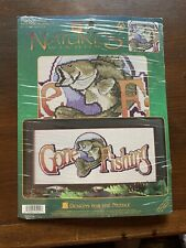 Natures Window Gone Fishing Counted Cross Stitch Kit Designs For The Needle
