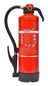 Jockel 6L ABF WH DIN EN 3 F6JX21 PLUS 75F 6530100 Fettbrandlöscher