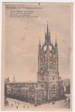 Newcastle Cathedral Hold to Light Postcard, B717