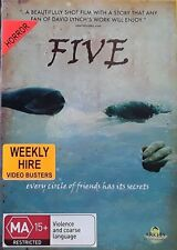 Five - David Lynch (DVD) Region 4