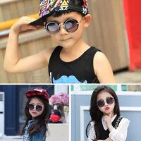Stylish Child Kids Boys Girls Children Retro Anti-UV400 Sunglasses Baby Goggles