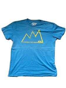 Quiksilver t shirt large - blue