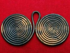 BRONZE AGE SPIRAL ,pendant , amulet ,extremely fine condition, 2nd millennium BC