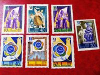 Soviet Stamps 1957 VI World Festival of Youth and Students in Moscow,USSR