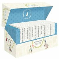 The World of Peter Rabbit Complete Collection 23 Books Box Set Beatrix Potter