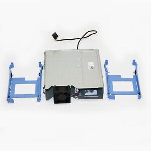 "Dell T3600 T3610 T5600 T5610 T5810 5.25"" 2 x SFF 2.5"" HDD Cage w/Fan R9PXF"