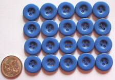 20 x 15 mm MATCHING BUTTONS - SKY BLUE SHADES - Sewing - Scrapbooking