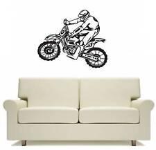 Motocross Motor Bike Wall Art boys Decor Free Postage