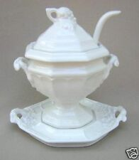 Red Cliff Grape Tureen with Lid, Ladle & Stand