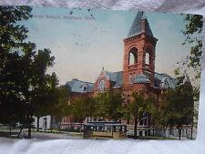 Mankato Mn Minn Minnesota, High School, early postcard, 1916