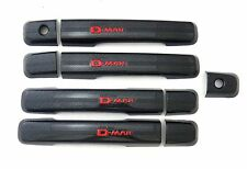 4DOOR BLACK KEVLAR HANDLE HAND COVER TRIM NEW ISUZU DMAX D-MAX 2012-2015 PICK UP