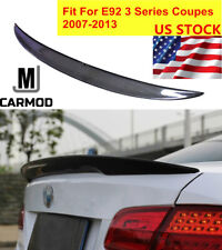 Carbon Fiber CF Rear Wing Trunk Lip Spoiler Fit For BMW E92 Coupe 328i 335i M3