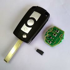 Flip Remote Key 315/434MHz With Chip ID44 for BMW E81 E46 E39 E63 E38 HU92