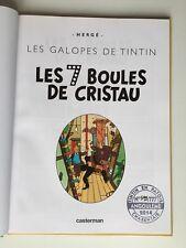 TINTIN LES 7 BOULES DE CRISTAU N° / HERGE / BD EO EN PATOIS CHARENTAIS / 777ex