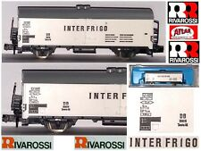 Rivarossi Atlas 2461 Vintage Wagon Goods Interfrigo Reefer Car DB Box Ladder-N