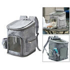 Pet Carrier Cats Backpack Collapsible Large Carry Bag Holder Tote Knapsack