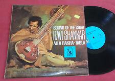 RAVI SHANKAR LP ORIG UK MONO 1966 THE SOUND OF THE SITAR