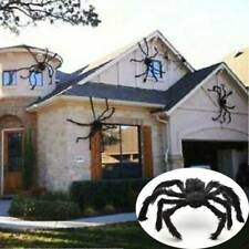 Spider Halloween Decoration Haunted House Prop Indoor Outdoor Black Giant W87
