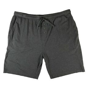 CARILOHA BAMBOO Men Sleep Shorts Soft Green Cool Clean Pockets Sustainable Sz XL