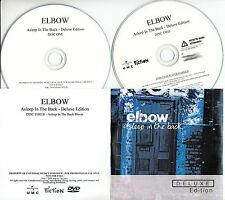 ELBOW Asleep In the Back 2009 UK 25-track promo test 2CD + DVD