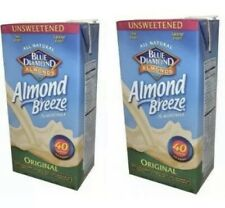 Blue Diamond Almond Breeze Vanilla 32oz Pack Of 2