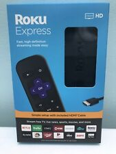 Roku Express ( 3930r ) Hd Streaming Media Player (Black) Latest Model , New