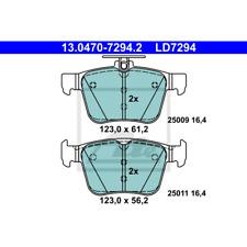 Bremsbelagsatz Scheibenbremse ATE Ceramic - ATE 13.0470-7294.2
