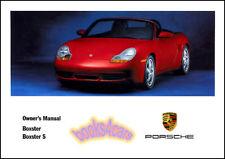 BOXSTER OWNERS MANUAL 2001 PORSCHE BOOK S CONVERTIBLE HANDBOOK 01 GUIDE WKD 986