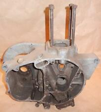 1960 BSA C15S 659 GOOD USED engine cases + oil pump + small parts shown