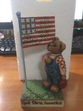 "Boyds Bears.""Nathaniel Bearyproud.God Bless America"".Retired, Rare"