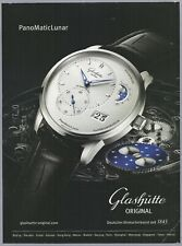 GLASHUETTE ORIGINAL- PanoMaticLunar - 2017 Print Ad (not real product)