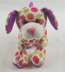 "Ganz Webkinz 8.5"" Lollipop Pup HM5117 Dog Puppy Plush Stuffed Animal No Code"