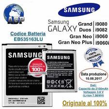 Batteria Samsung Gran Neo Duos Plus i9060 i9060i i9080 i9082 EB535163LU Original